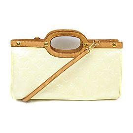 Louis Vuitton Perle Monogram Vernis Roxbury Drive 2way Bag