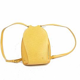 Louis Vuitton Yellow Epi Mabillon Mini Backpack 871495
