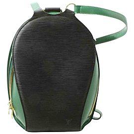 Louis Vuitton 1 of 1 Ultra Rare Special Order Bicolor Black Mabillon Backpack 861914