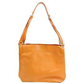 Louis Vuitton Orange Epi Mandara MM Hobo 8711167