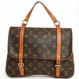 Louis Vuitton Marelle Monogram Sac A Dos 3way 233590 Brown Coated Canvas Shoulder Bag