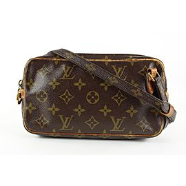Louis Vuitton Monogram Pochette Marly Bandouliere Crossbody Bag 862456