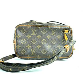 Louis Vuitton Marly Monogram Bandouliere 12lv610 Brown Coated Canvas Cross Body Bag