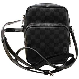 Louis Vuitton Damier Graphite Rem Crossbody Messenger Amazon Bag 861346