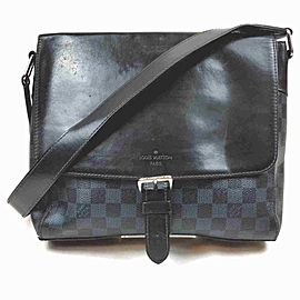 Louis Vuitton Navy Damier Cobalt Newport PM Messenger Crossbsody 860493