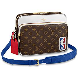 Louis Vuitton Virgil LVxNBA Monogram Nil Messenger NBA Basketball Bag 862057