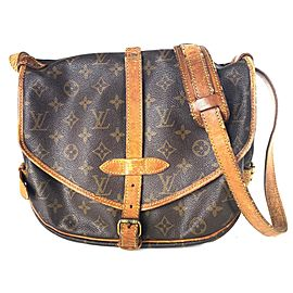Louis Vuitto Monogram Saumur 30 Messenger 3lv615