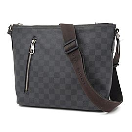 Louis Vuitton Milo Mick Pm 235765 Black Damier Graphite Canvas Messenger Bag