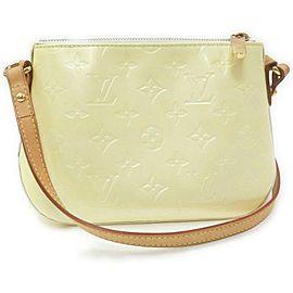 Louis Vuitton Perle Monogram Vernis Minna Street Crossbody Bag 863135