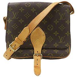 Louis Vuitton Monogram Cartouchiere MM Crossbody Bag 862888