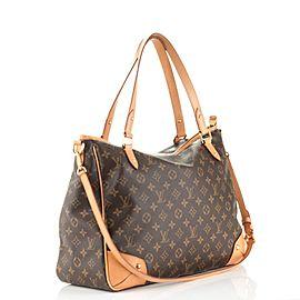 Louis Vuitton Monogram Estrella Gm with Strap 4l615 Brown Coated Canvas Messenger Bag