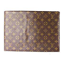 Louis Vuitton Lexington Pochette Accesoires Monogram Wristlet 5la529 Yellow Vernis Clutch