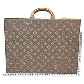 Louis Vuitton Monogram President Classeur Attache Hard Trunk Case 863216