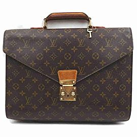 Louis Vuitton Monogram Serviette Conseiller Attache Briefcase 860837
