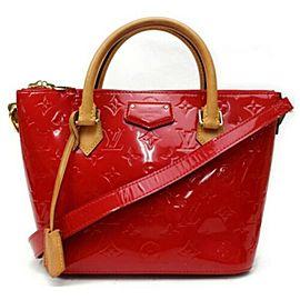 Louis Vuitton Monogram Montebello PM Red Vernis 860006