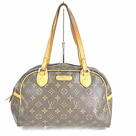 Louis Vuitton Monogram Montorgueil PM Bowler 861181
