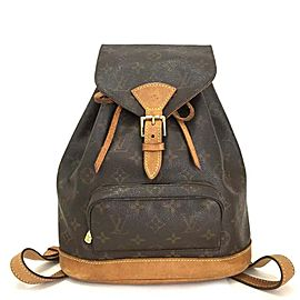 Louis Vuitton Montsouris MM Backpack Bookbag 860347