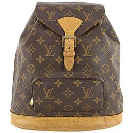 Louis Vuitton Monogram Moyen Montsouris MM Backpack 80lvs630
