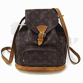 Louis Vuitton Monogram Montsouris MM Backpack 860265