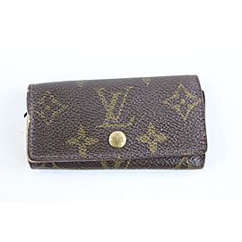 Louis Vuitton Monogram Multicles 4 Key Holder 5LR1113