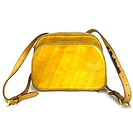 Louis Vuitton Yellow Monogram Vernis Murray Backpack 5LVA101