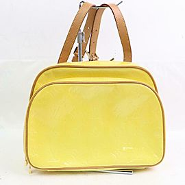 Louis Vuitton Monogram Vernis Yellow Mini Murray Backpack 871187