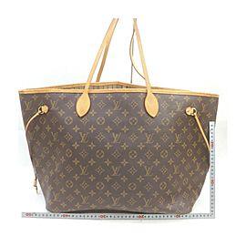 Louis Vuitton Large Monogram Neverfull GM Tote Bag 863337