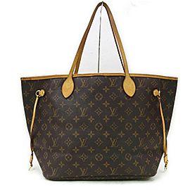 Louis Vuitton Monogram Neverfull MM Tote Bag 862864