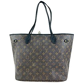 Louis Vuitton Monogram Neverfull MM Tote Bag 38LVL1125