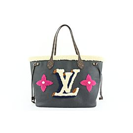 Louis Vuitton Monogram Teddy Neverfull MM Tote bag with Pouch 283lvs512