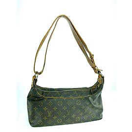 Louis Vuitton Neverfull Hobo Ultra Rare Vintage Monogram 23lv617 Brown Coated Canvas Shoulder Bag