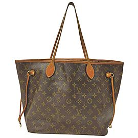 Louis Vuitton Monogram Neverfull MM Tote 861309