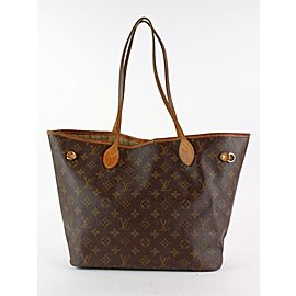 Louis Vuitton Monogram Neverfull MM Tote Bag 11LVS1216