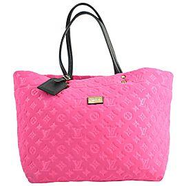 Louis Vuitton Neverfull Scuba Gm Hot 4lva12317 Pink Neoprene Tote