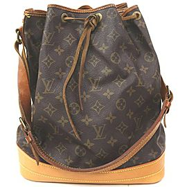 Louis Vuitton Large Monogram Noe GM Drawstring Bucket Hobo Bag 863111