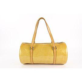 Louis Vuitton Yellow Monogram Vernis Bedford Papillon Bag 4LVS1215
