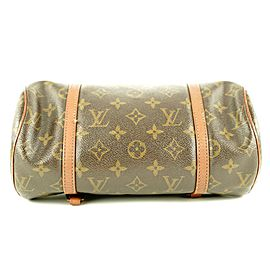 Louis Vuitton Monogram Papillon 26 Barrel Bag