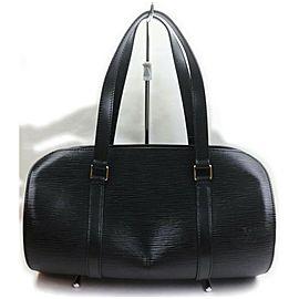 Louis Vuitton Black Epi Leather Noir Soufflot Papillon Bag 861957