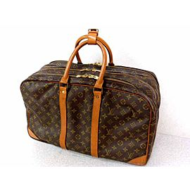 Louis Vuitton Poche Sac Trois 223277 Brown Coated Canvas Weekend/Travel Bag