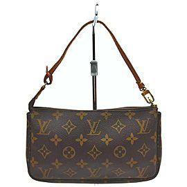 Louis Vuitton Monogram Pochette Accessoires Pochette Wristlet 861520
