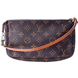 Louis Vuitton Monogram Pochette Accessoires Wristlet Pouch 860758