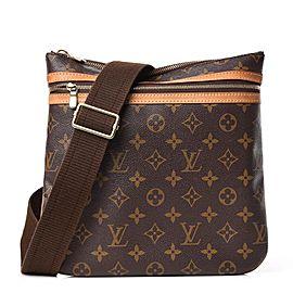 Louis Vuitton Pochette Bosphore Monogram 5lva82 Brown Coated Canvas Cross Body Bag