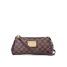 Louis Vuitton Damier Ebene Pochette Eva Bag 620lvs616