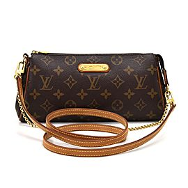 Louis Vuitton Monogram Pochette Eva Crossbody 2way Sophie 858587