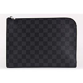 Louis Vuitton Damier Graphite Pochette Jour PM Zip Around Portfolio 18LVS1221