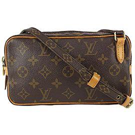 Louis Vuitton Monogram Pochette Marly Bandouliere Crossbody Bag 827lv2