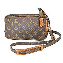 Louis Vuitton Monogram Pochette Marly Bandouliere Crossbody Bag 863504
