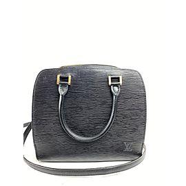 Louis Vuitton Pont Neuf Noir with Strap 15epi617 Black Epi Leather Cross Body Bag