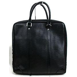Louis Vuitton Porte Documents Voyage Rare Pegase Attache Briefcase 872815 Black Epi Leather Weekend/Travel Bag