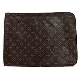 Louis Vuitton Poche Documents Monogram Portfolio Zip Folder 872474
